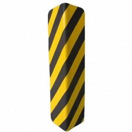Protector de parking para columna negro/amarillo