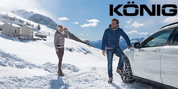 Cadenas de nieve König Consumer